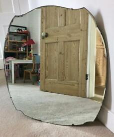 Beautiful Victorian large mirror