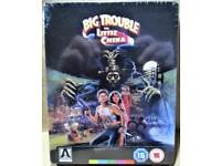 Big Trouble in Little China Steelbook Blu Ray - BRAND NEW