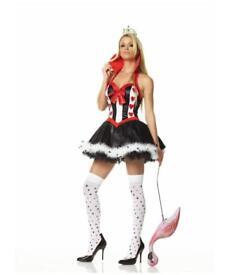 Sexy Alice in Wonderland Queen of Hearts Fancy Dress