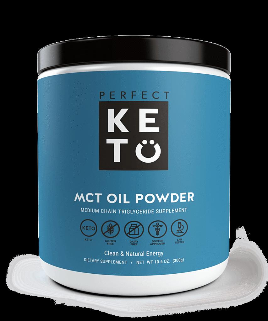 PERFECT KETO MCT OIL POWDER 300G MEDIUM CHAIN TRIGLYCERIDES