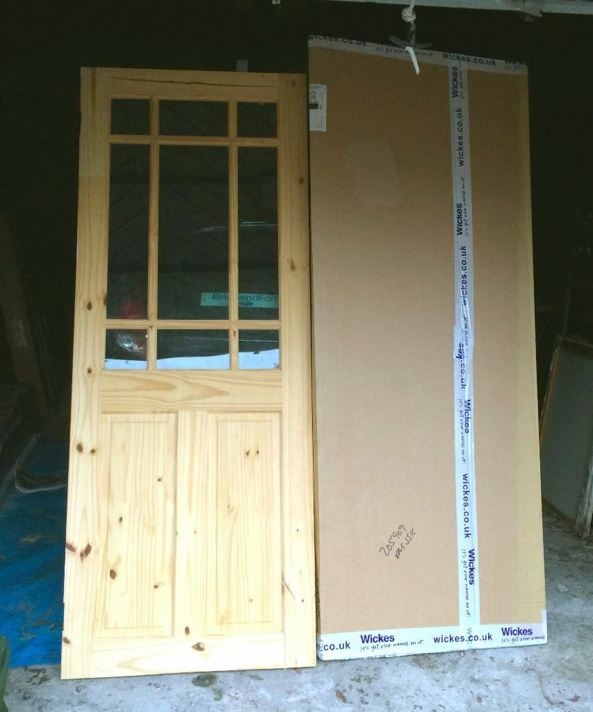 brand new wickes truro internal pine glazed door 1981 x. Black Bedroom Furniture Sets. Home Design Ideas
