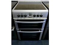 Silver Beko 60cm Ceramic Cooker - 12 Months Warranty - £180