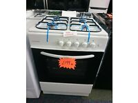 Cookworks CGS60W Single Gas Cooker - White Item No. SBAR1237406040379