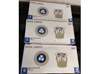 3 x LAP 10 Pack 30mm Recessed IP67 Blue Led Kit, Decking, Kitchen Plinth