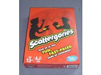 Scattegories board game - unplayed and as new