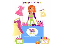 Mum2mum Market Baby & Children's Nearly New Sale Kesgrave - 22nd April 2pm-4pm