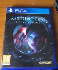 Resident Evil Revelations - Sony Playstation 4 Game - PS4 Survival Horror Action Zombie Biohazard