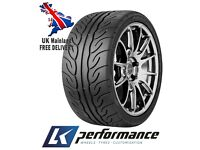 **New** 2 Tyres 225/45/17 91W Yokohama AD08R (AD08-R)On Track High Quality