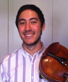 Violin and Viola Teacher / Teaching / Tuition - Beginners to Advanced