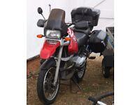 BMW R1100 GS Tourer Motorbike/Motorcycle Red