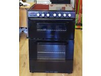 60cm Servis Ceramic Cooker, Double Oven (Fan Assisted) / Grill - 6 Months Warranty