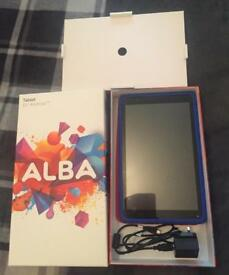 "10"" tablet android , used twice never used"