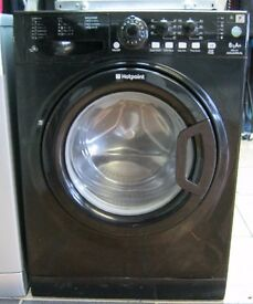 Hotpoint Black Washing Machine, 6kg Capacity, 1400 Spin, 6 Month Cover