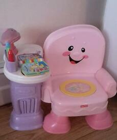 MUSICAL CHAIR FISHER PRICE