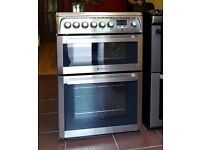 60cm Hotpoint Ceramic Cooker, Fan Assisted Oven/Grill- 6 Months Warranty