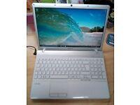 Sony Vaio Laptop, Dual Core, Windows 10, MS Works, 320gb HD, Wifi, Bluetooth, DVD/RW, Charger