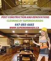 Need post construction cleaning contracts