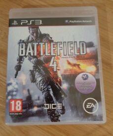 PS3 - Battlefield 4 - Pristine Condition
