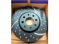 EBC GD Grooved & Dimpled Vented High Performance Brake Discs 280mm Pair
