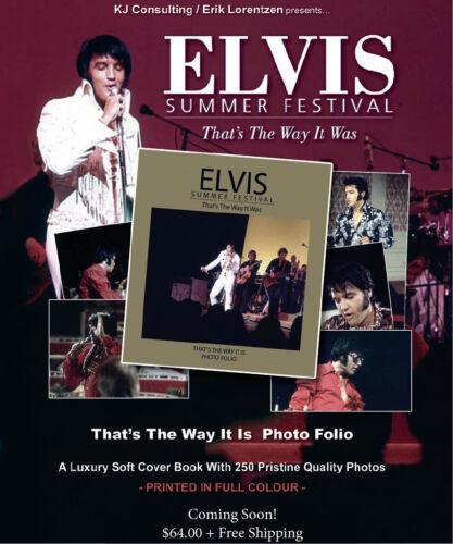 "ELVIS PRESLEY ~ ""SUMMER FESTIVAL"" ~ PHOTO FOLIO ~ Best of Vol. 1-5 ~ PRESELL"