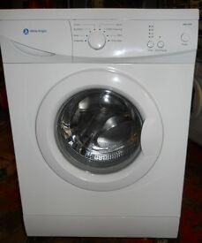 White Knight WM105m washing machine 1100 spin 6kg recon motor new door seal As New £85