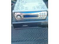 Clarion cd player and 6 cd changer