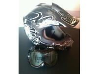 Moto x style crash helmet size m