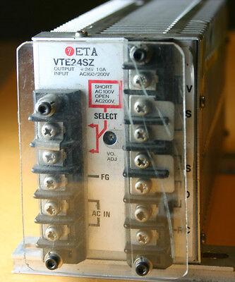 Ac-dc Converter Power Supply Eta - Vte24sz Used