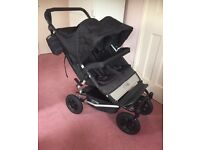 Immaculate Mountain Buggy Duet Double Buggy Pushchair
