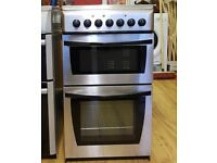 50cm Indesit Ceramic Cooker, Oven & Separate Grill - 6 Months Warranty