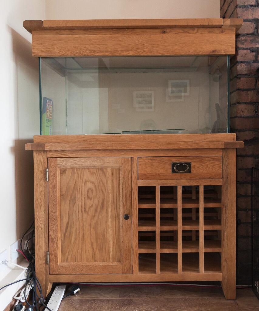 Oak Aquarium Cabinets Bar Cabinet