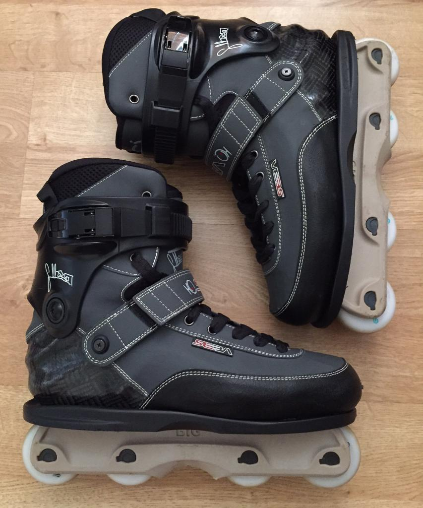 Roller skates kingston - Twice Used Amazing Condition Seba Cj Wellsmore Pro Aggressive Inline Skates Uk 10 5