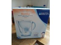 NEW White Brita Marella water filter jug