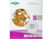 Petsafe Staywell Pet Door Flap Dogs Medium White 740EF Flap, new