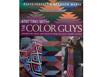 Knitting with the Colour Guys - Knitting Book, used for sale  Dorset
