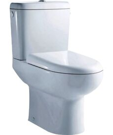 square and round shape toilets
