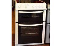 Logik Electric Cooker- oven with ceramic hob, 50cm