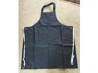 Wipe clean long kitchen aprons