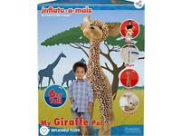 Inflate-A-Mals Inflatable Plush Giraffe PARTY TOY IKEA BABY RRP £40