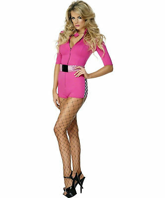 Sports Girl Halloween Costumes (Sexy Halloween Adult Women's NASCAR Racing Girl)
