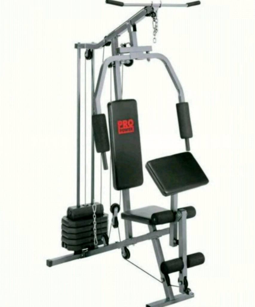 York Weights Bench Argos: Pro Power Multi Gym