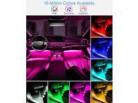 Car Ambient Lighting, Interior LED Strip Light, Multi Colour Car Lighting £125 Including Fitting