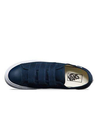 (Vans Style 23 V Canvas Dress Blues Navy White Men's 9.5 Skate Shoes New Skater)