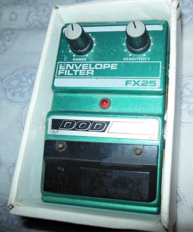 Vintage 1988 DOD FX 25 Envelope Filter Guitar Effect Pedal - Sandy Utah USA