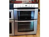 60cm Belling Ceramic Cooker, Double Oven (Fan Assisted) / Grill - 6 Months Warranty