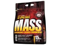 NEW SEALED MUTANT MASS WEIGHT GAIN 15LBS 6.8KG RRP£40