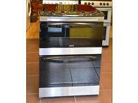 60cm Zanussi Ceramic Cooker, Fan Assisted Oven/Grill- 6 Months Warranty