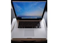 APPLE MACBOOK PRO 15 INTEL CORE I5 2.4GHZ 4GB RAM 500GB HDD WIFI WEBCAM