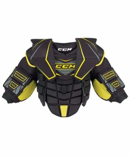 New CCM Premier R 1.5 Hockey Goalie Chest Arms Protector Junior Small/Medium jr