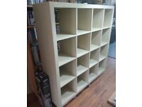 IKEA EXPEDIT - KALLAX 16 shelves 4x4 Shelving unit Collect Chorlton